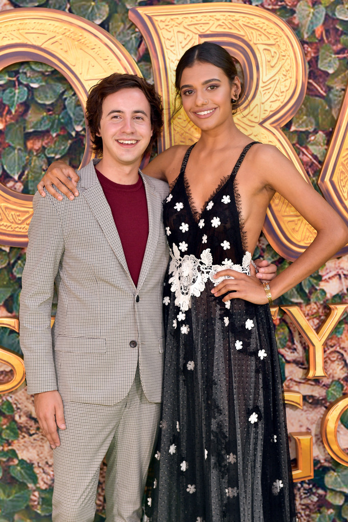 Nicholas Coombe and Madeleine Madden Dora and the Lost City of Gold World Premiere Los Angeles