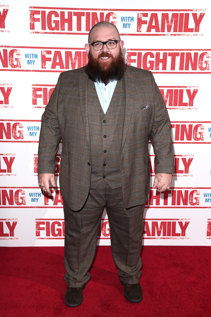 Nick Frost Fighting with my Family UK Premiere London Arrivals