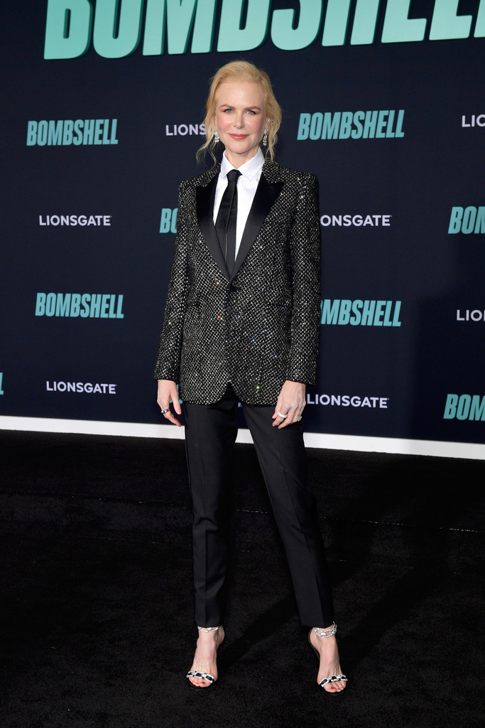 Nicole Kidman Bombshell Premiere Hollywood Los Angeles Arrivals