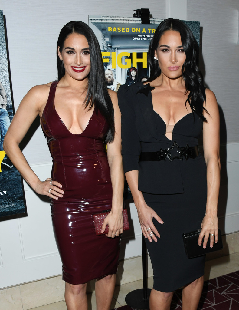 Nikki and Brie Bella Fighting with My Family Los Angeles Tastemaker Screening