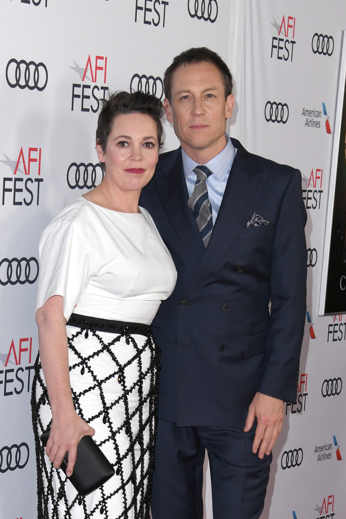 Olivia Colman and Tobias Menzies The Crown Season 3 Los Angles Premiere AFI Fest 2019