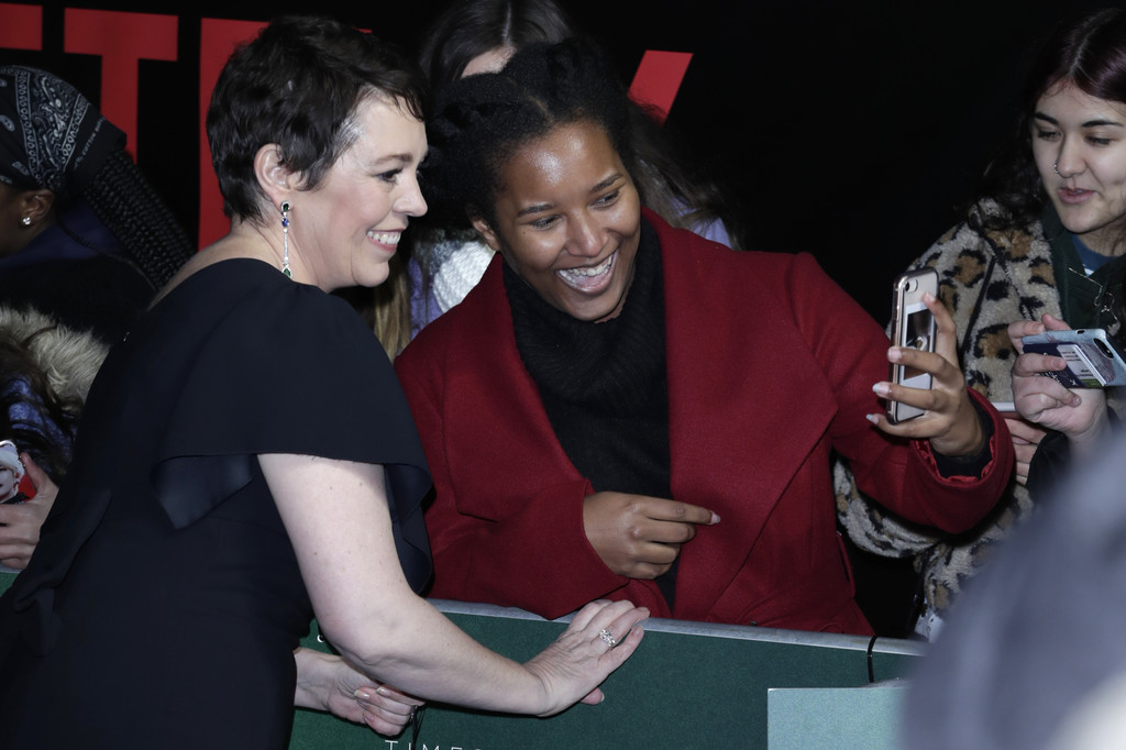 Olivia Colman The Crown Season 3 Premiere London