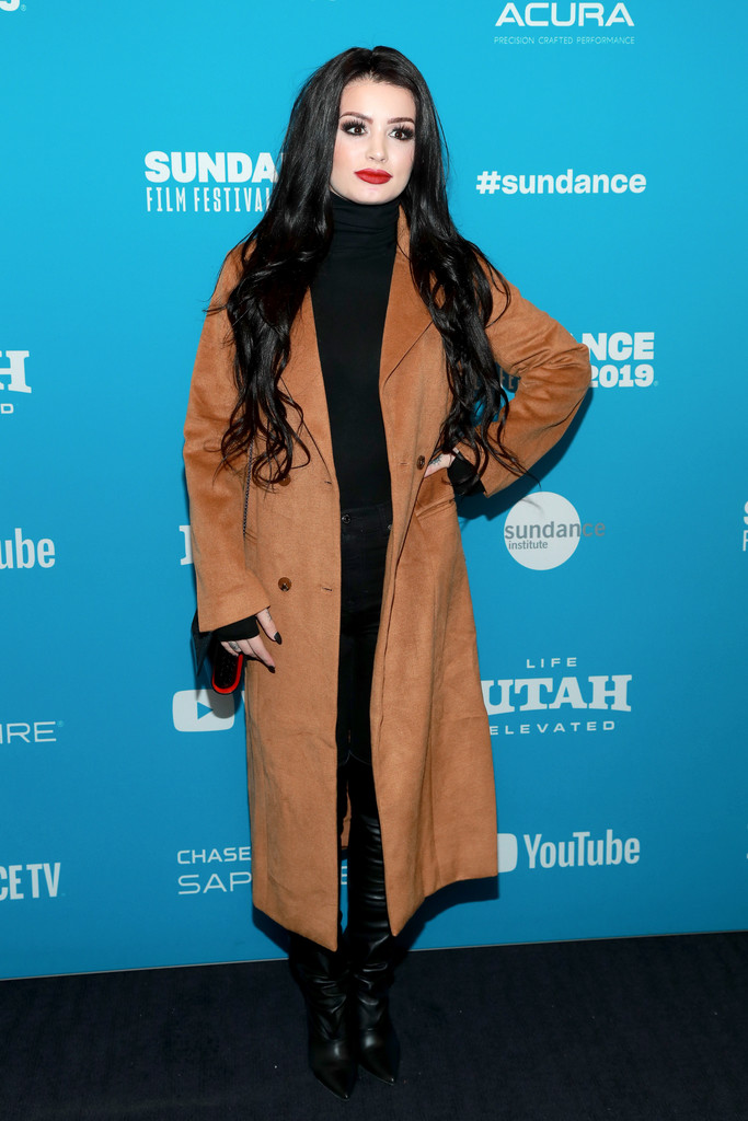 Paige Knight 2019 Sundance Film Festival Fighting With My Family Screening 3