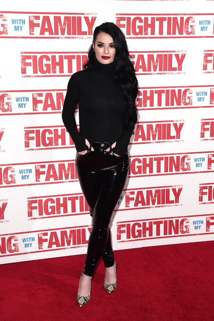 Paige Knight Fighting with my Family UK Premiere London Arrivals