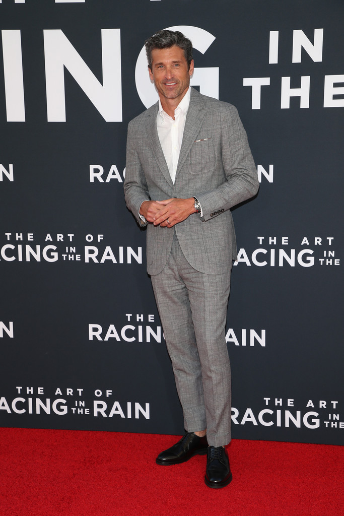 Patrick Dempsey The Art of Racing in the Rain Los Angeles Premiere Arrivals