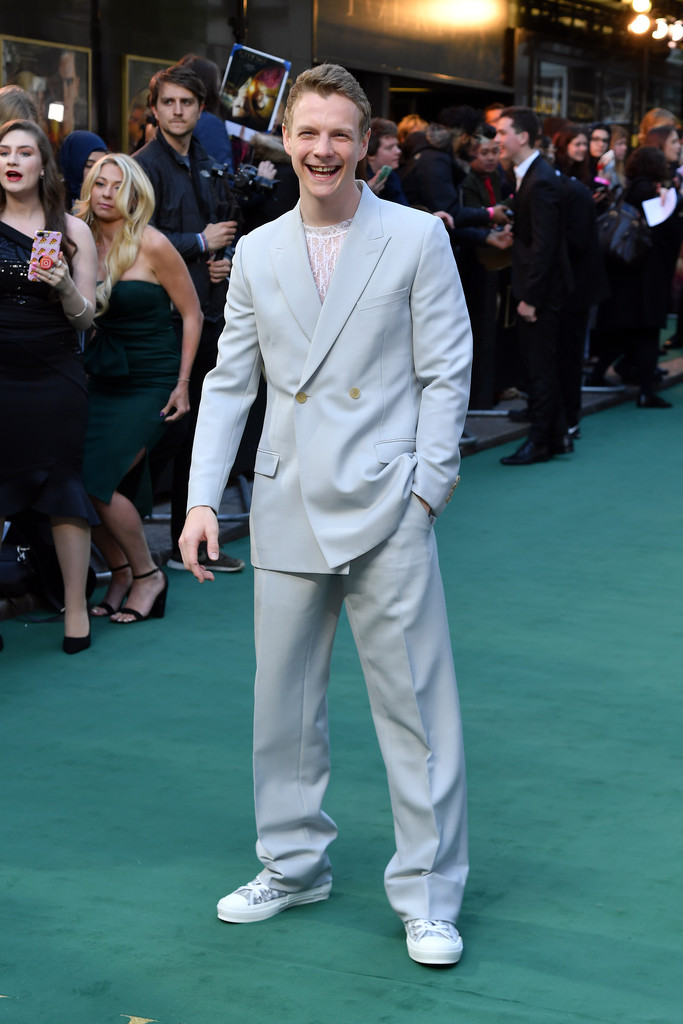 Patrick Gibson Tolkien UK Premiere London