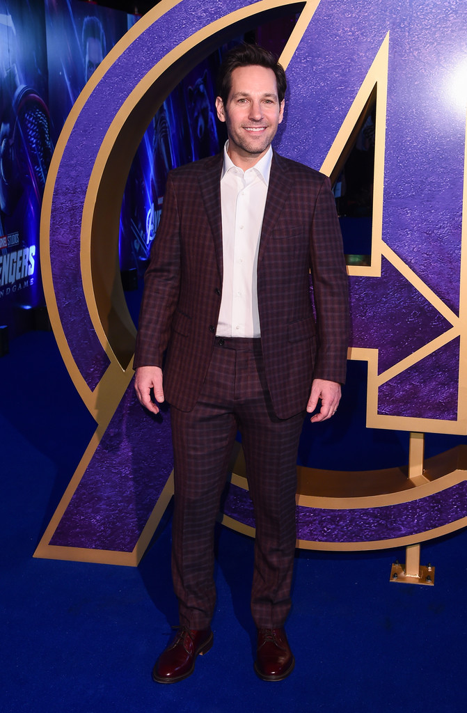 Paul Rudd Avengers Endgame UK Premiere London