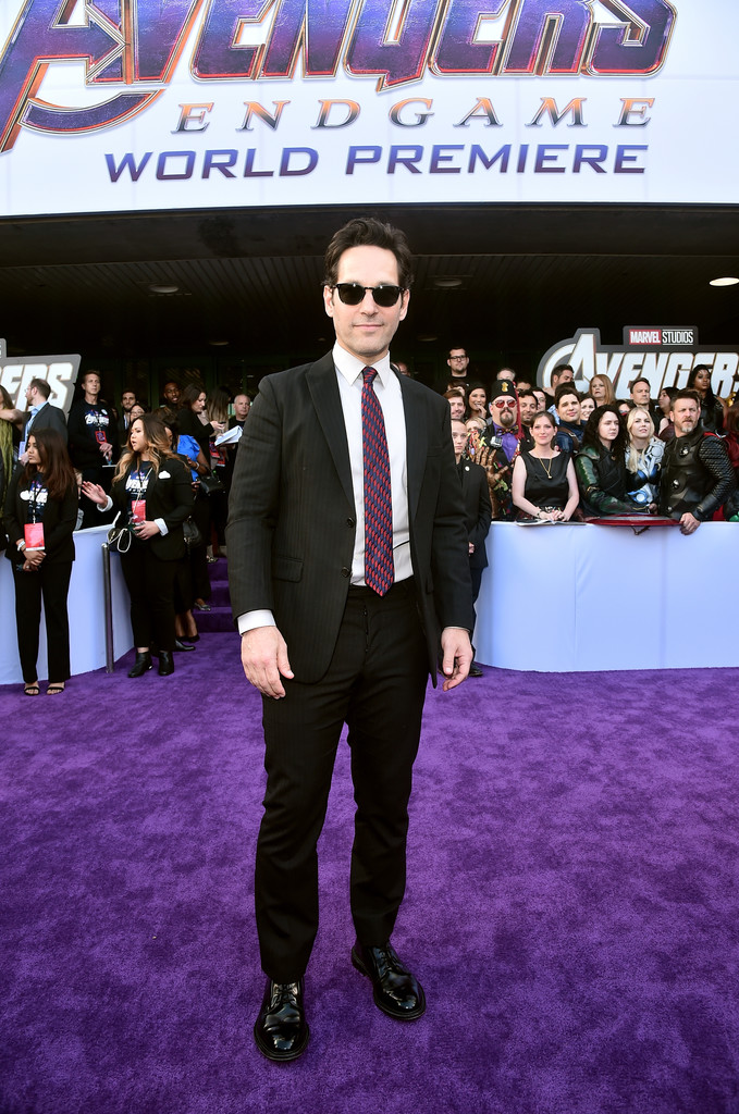 Paul Rudd Marvel Avengers Endgame World Premiere Los Angeles Hollywood