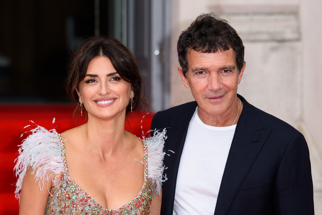 Penelope Cruz and Antonio Banderas Pain and Glory UK Premiere London