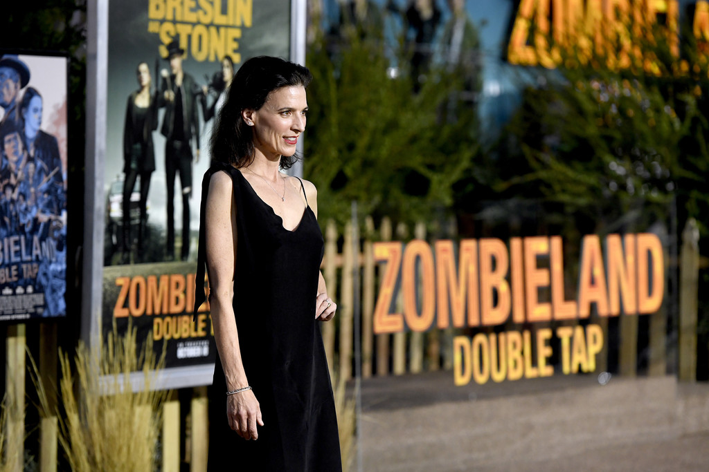 Perry Reeves Zombieland Double Tap Los Angeles Premiere