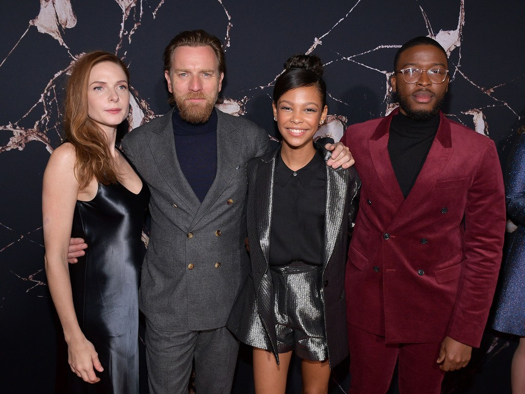 Rebecca Ferguson, Ewan McGregor, Zackary Momoh and Kyliegh Curran Doctor Sleep Los Angeles Premiere