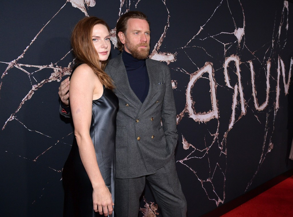 Rebecca Ferguson and Ewan McGregor Doctor Sleep Los Angeles Premiere