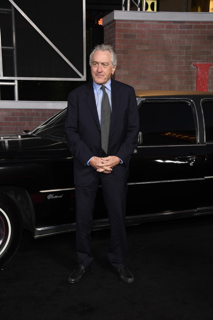 Robert De Niro The Irishman Los Angeles Premiere