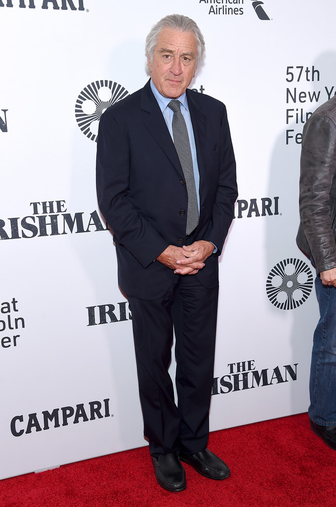 Robert De Niro The Irishman New York Film Festival Premiere