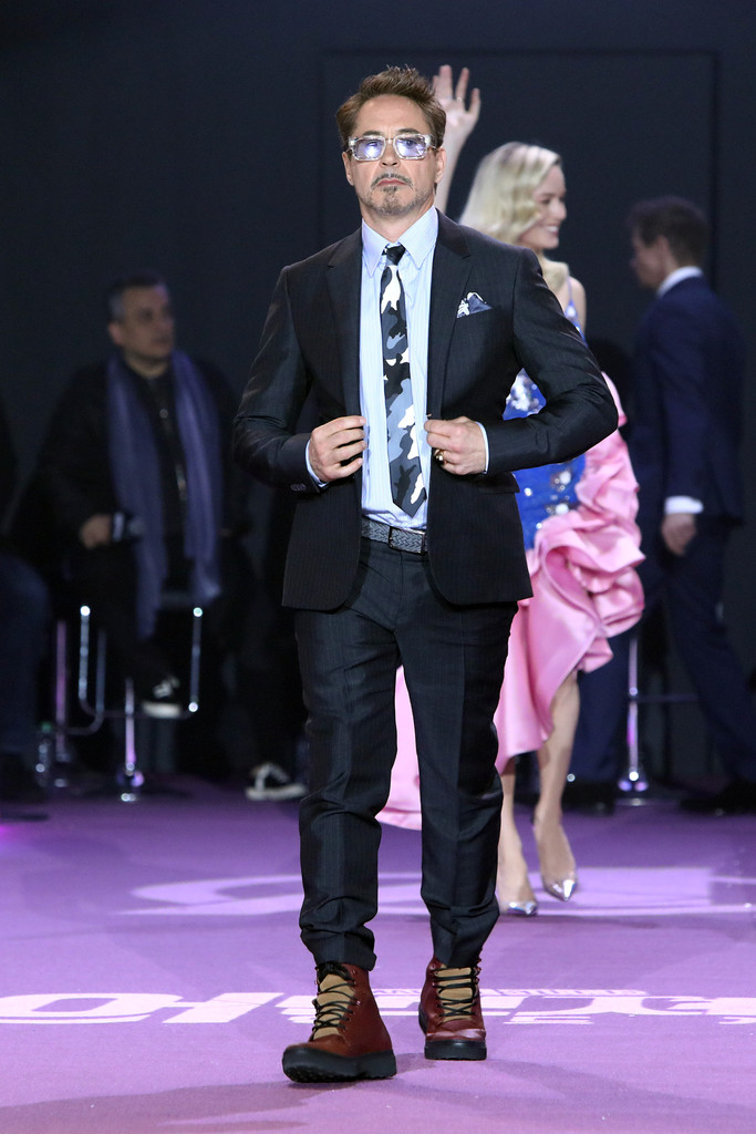 Robert Downey Jr. Avengers Endgame Seoul Premiere South Korea
