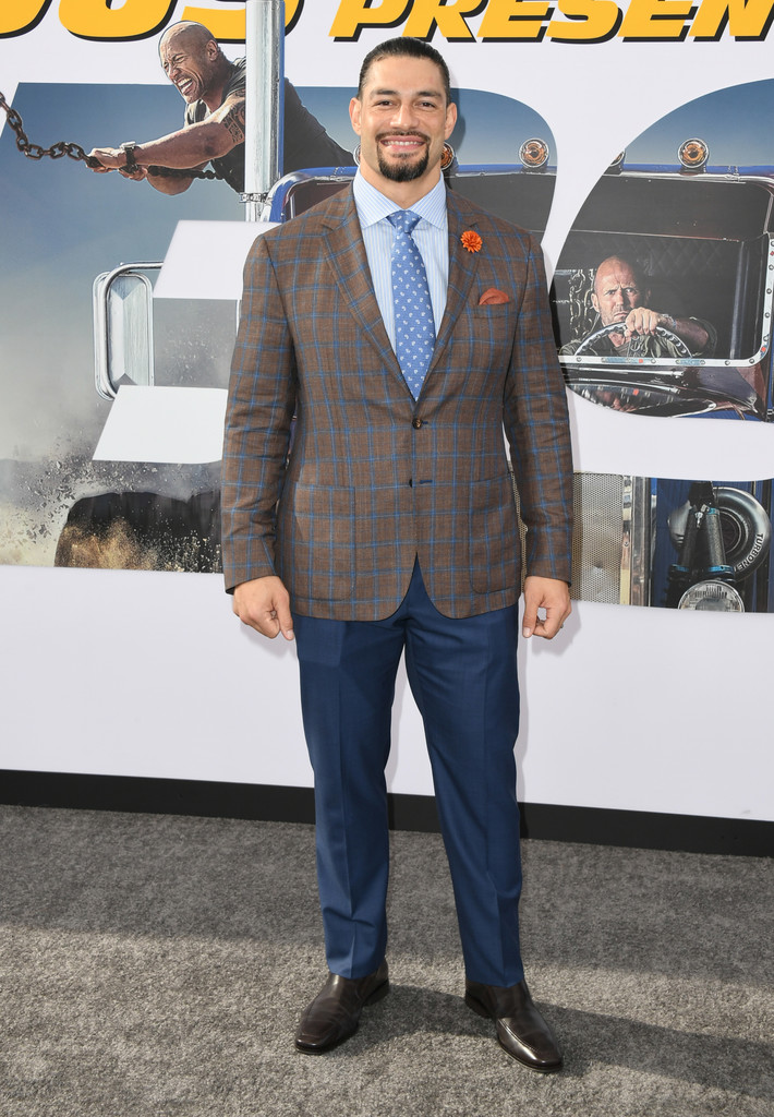 Roman Reigns Fast and Furious Presents Hobbs and Shaw World Premiere Hollywood Los Angeles
