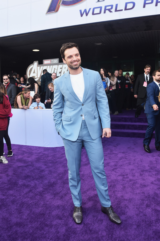 Sebastian Stan Marvel Avengers Endgame World Premiere Los Angeles Hollywood