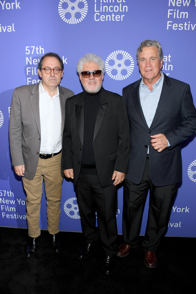 Sony Presidents and Pedro Almodovar Pain and Glory New York Premiere