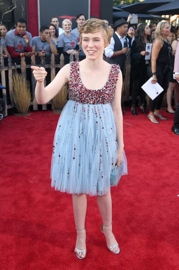 Sophia Lillis IT Chapter Two Hollywood Premiere Los Angeles Arrivals