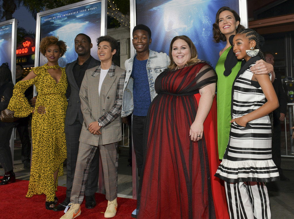 This Is Us Cast and Breakthrough Cast Breakthrough Los Angeles Premiere