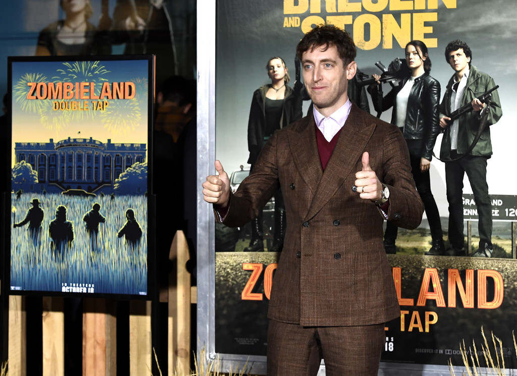 Thomas Middleditch Zombieland Double Tap Los Angeles Premiere