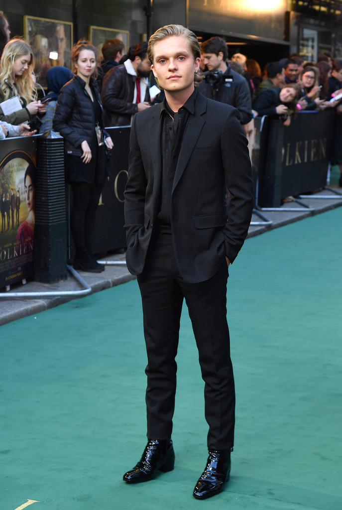 Tom Glynn-Carney Tolkien UK Premiere London