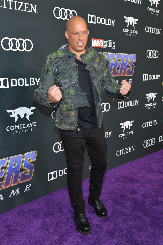 Vin Diesel Marvel Avengers Endgame World Premiere Los Angeles Hollywood