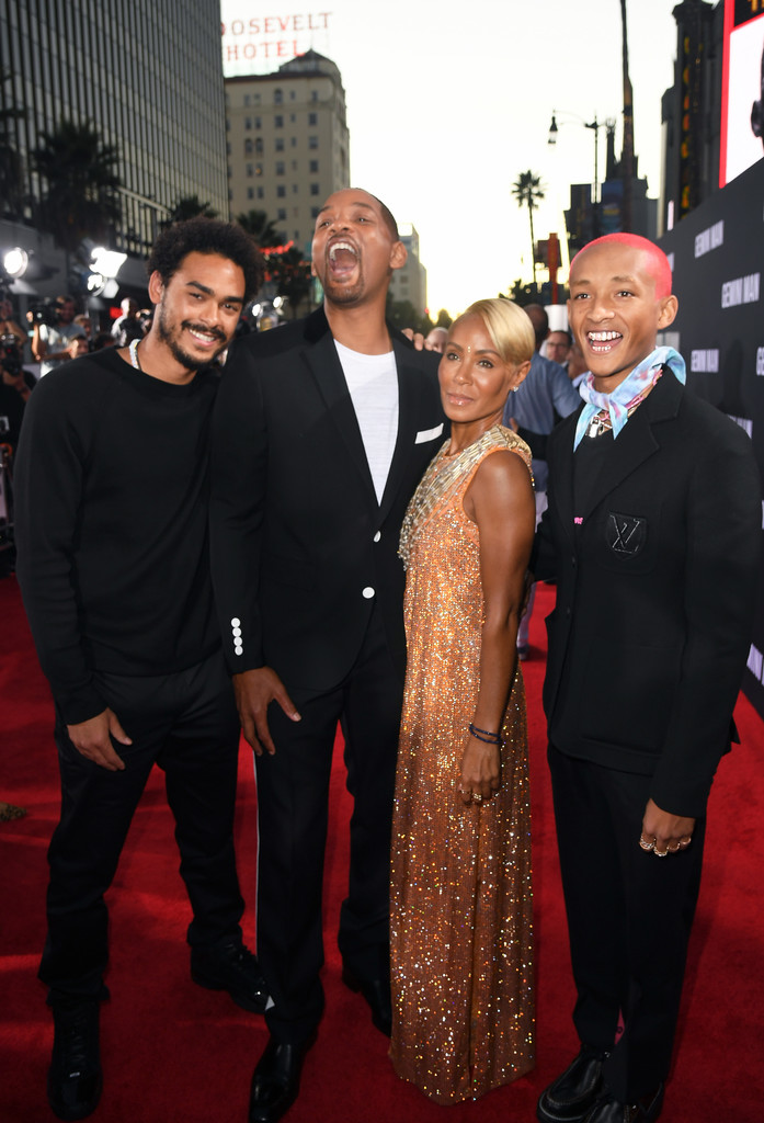 Will Smith and family Gemini Man Hollywood Premiere Los Angeles