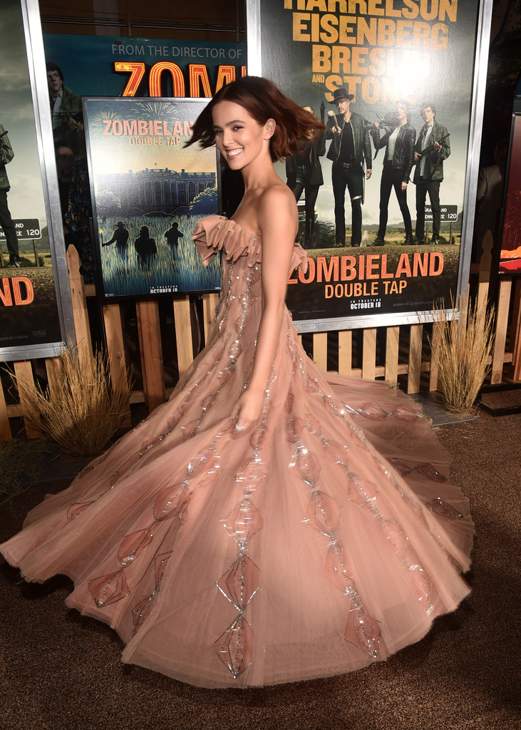 Zoey Deutch Zombieland Double Tap Los Angeles Premiere