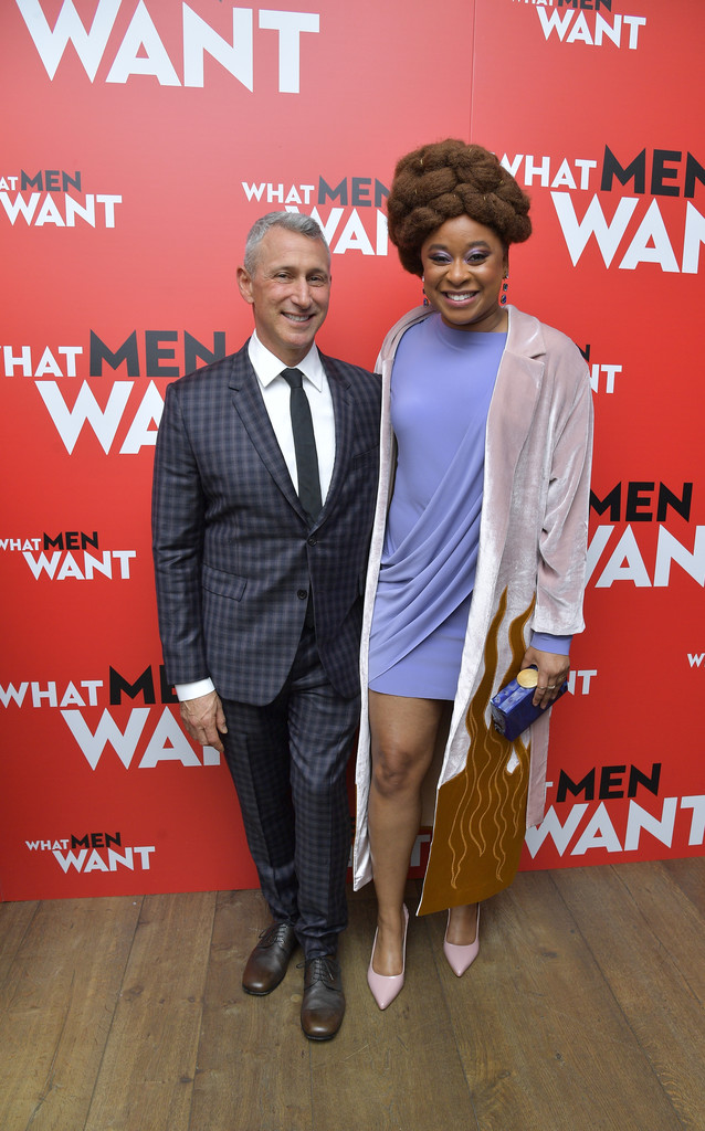 Adam Shankman and Phoebe Robinson What Men Want New York City Special Screening Arrivals