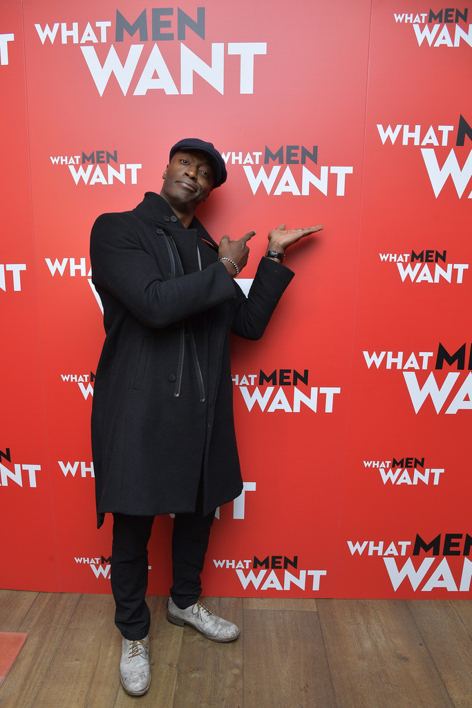 Aldis Hodge What Men Want New York City Special Screening Arrivals