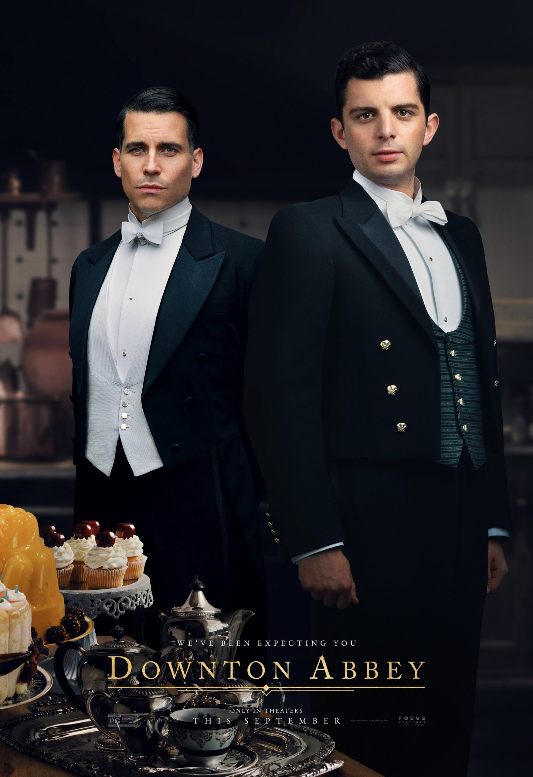 Andrew Parker and Thomas Barrow Downton Abbey The Movie Character Posters