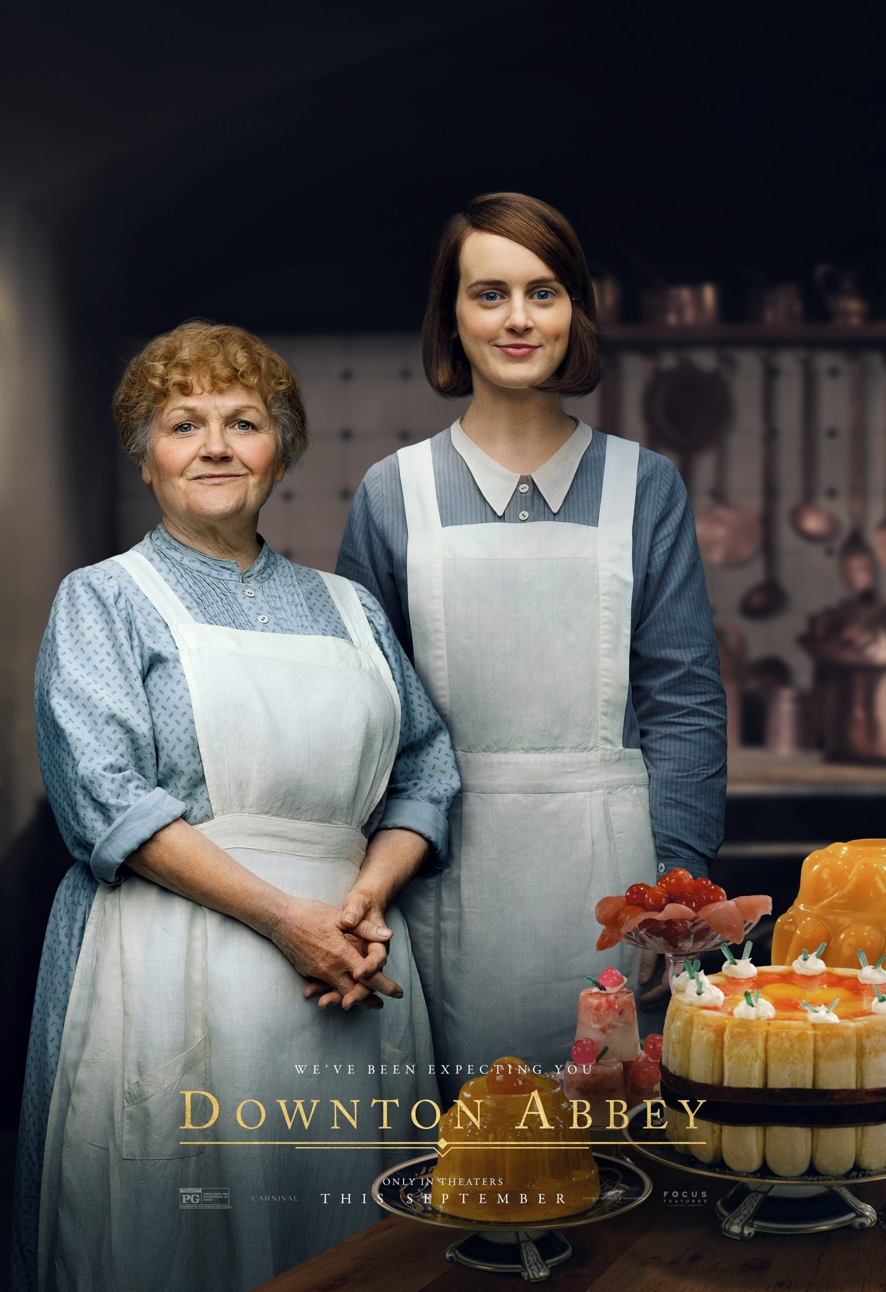 Beryl Patmore and Daisy Maison Downton Abbey The Movie Character Posters