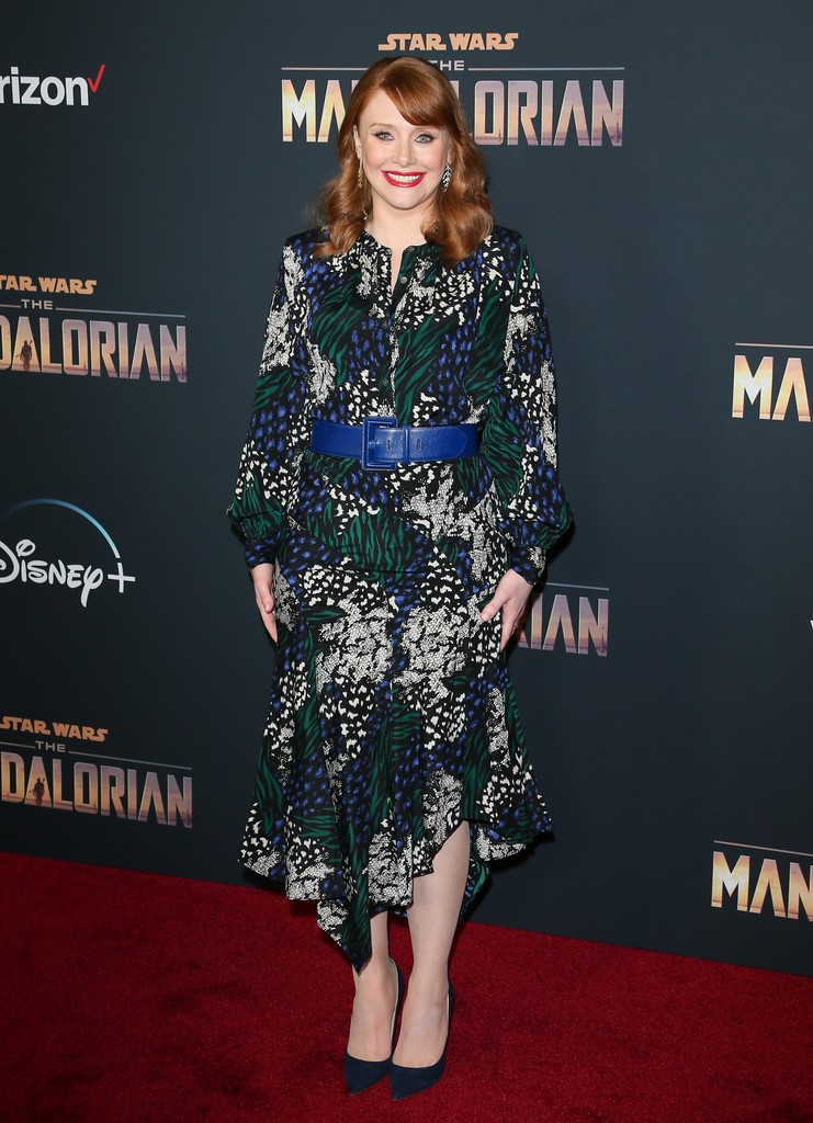 Bryce Dallas Howard The Mandalorian Disney+ World Premiere Hollywood Los Angeles