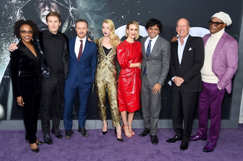 Cast and Director Glass New York City Premiere Arrivals