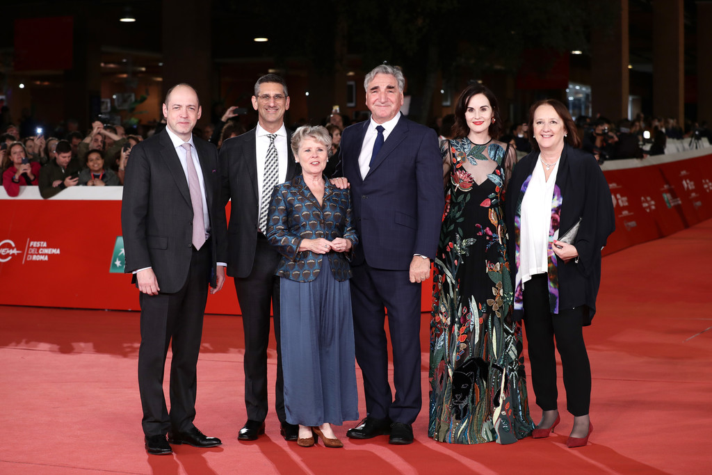 Cast and crew Downton Abbey Rome Premiere 14th Rome Film Festival 2019 Arrivals