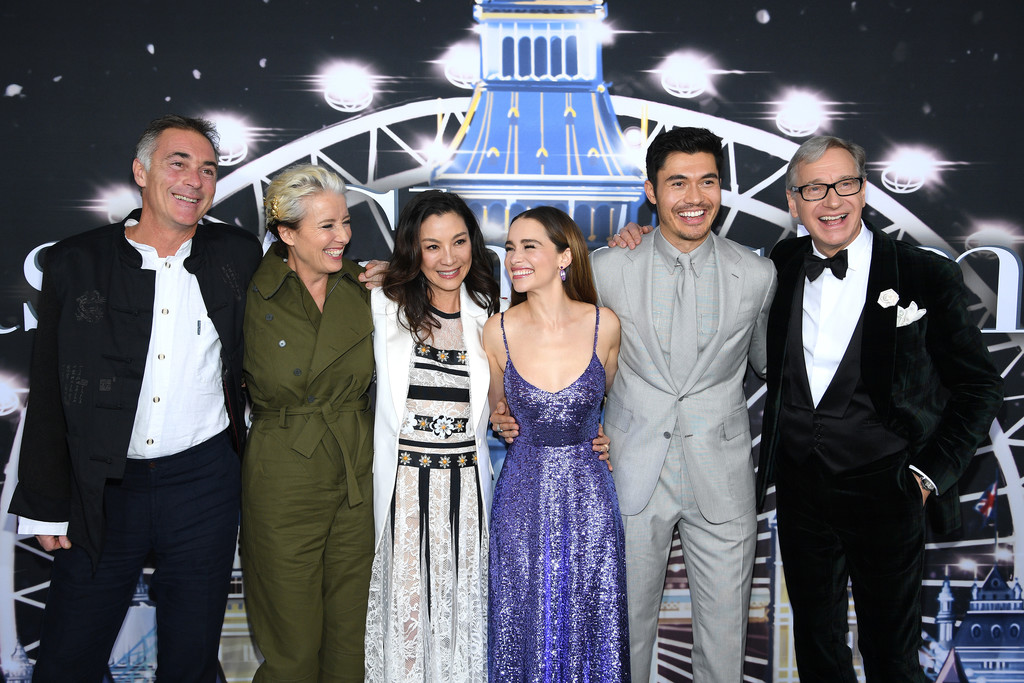 Cast and crew Last Christmas New York City Premiere