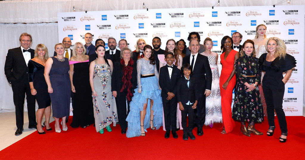 Cast and crew The Personal History of David Copperfield European Premiere BFI London Film Festival 2019 London Arrivals