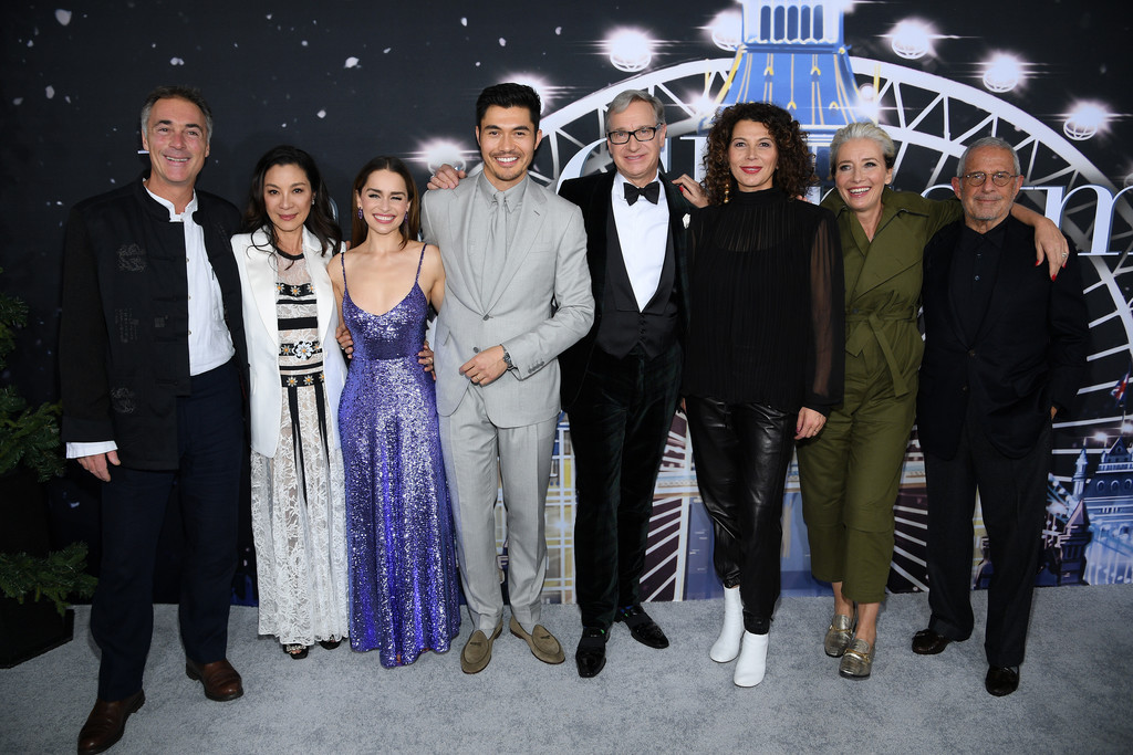 Cast and crew of Last Christmas New York City Premiere
