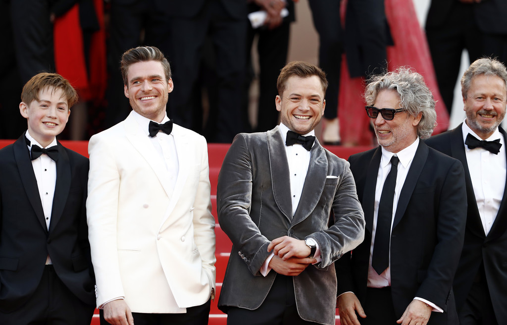 Cast and crew of Rocketman 72nd Annual Cannes Film Festival France Premiere