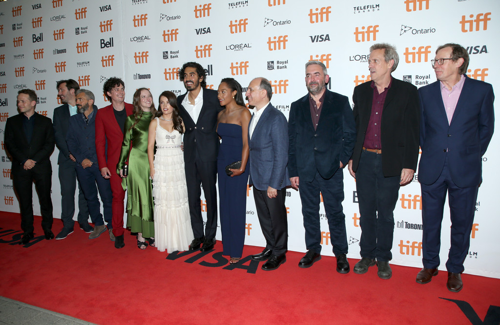 Cast and crew of The Personal History of David Copperfield Toronto International Film Festival Premiere TIFF 2019