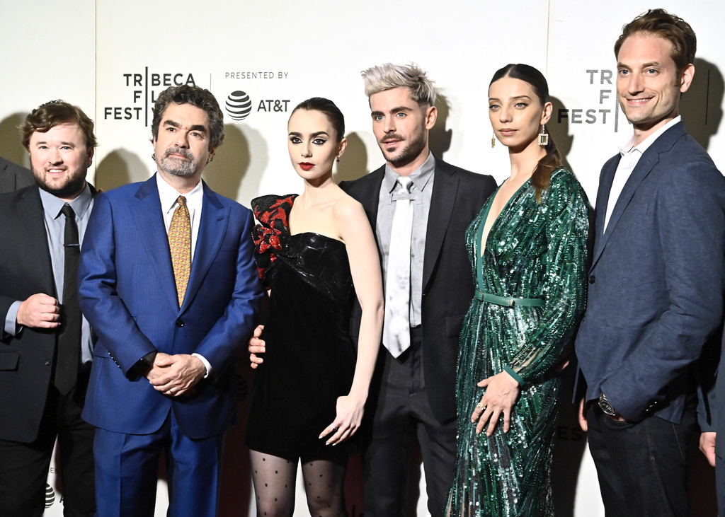 Cast and director Extremely Wicked Shockingly Evil and Vile Tribeca Film Festival Premiere New York City
