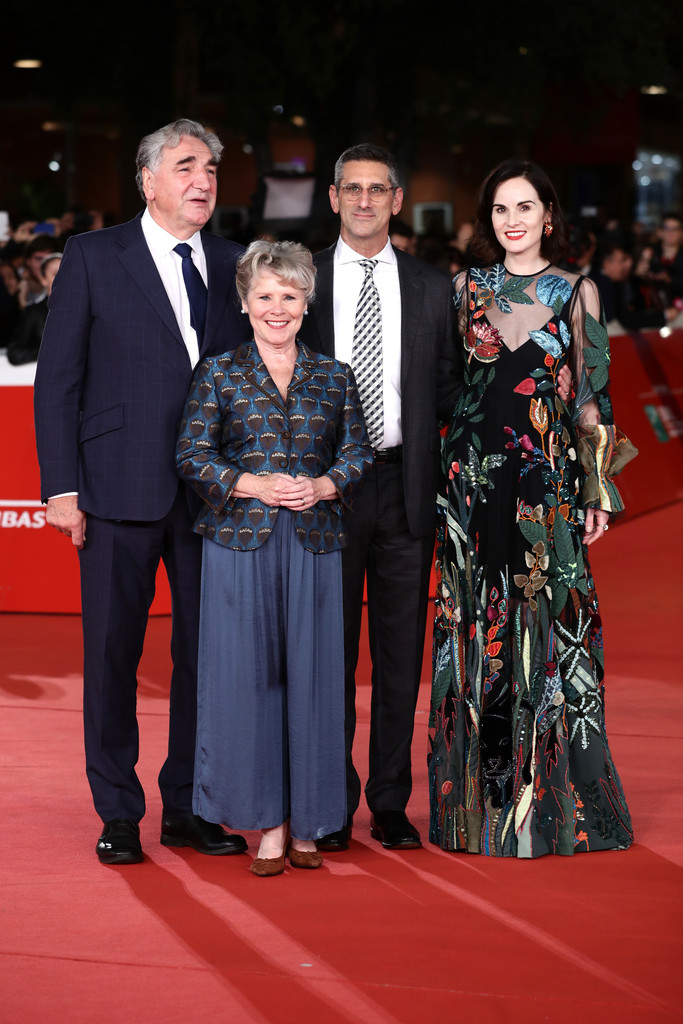 Cast of Downton Abbey Rome Premiere 14th Rome Film Festival 2019 Arrivals