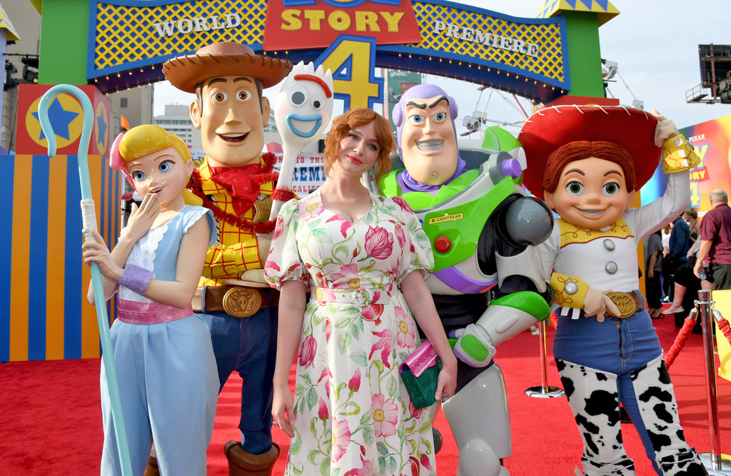 Christina Hendricks Toy Story 4 Los Angeles Premiere Hollywood