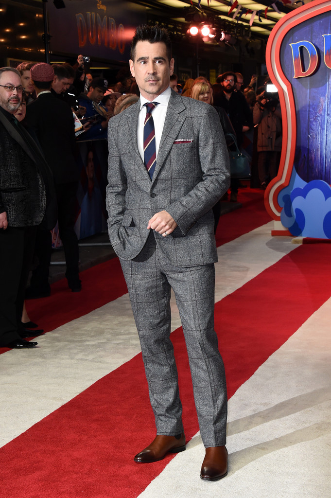 Colin Farrell Disney Dumbo European Premiere London
