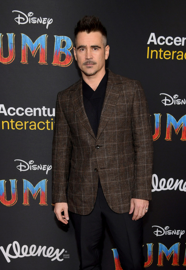 Colin Farrell Disney Dumbo Los Angeles Premiere Arrivals