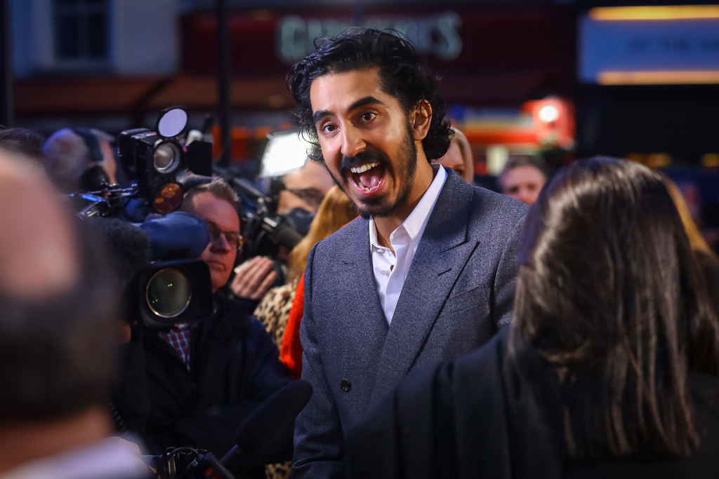 Dev Patel The Personal History of David Copperfield European Premiere BFI London Film Festival 2019 London Arrivals
