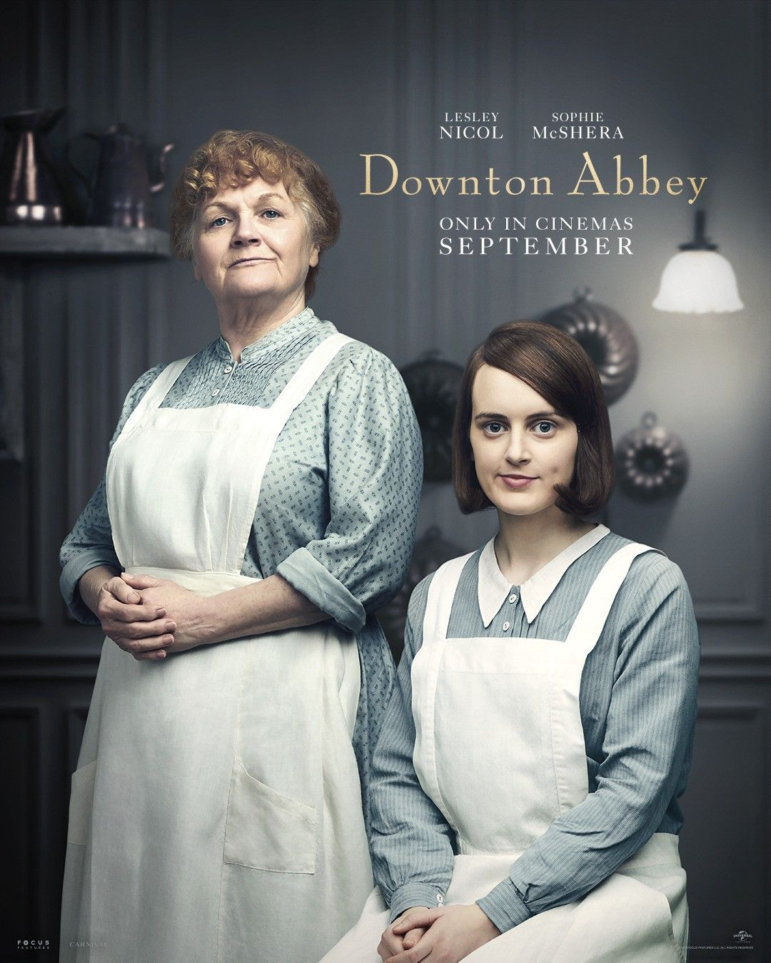Downton Abbey The Movie Character Posters Beryl Patmore and Daisy Maison
