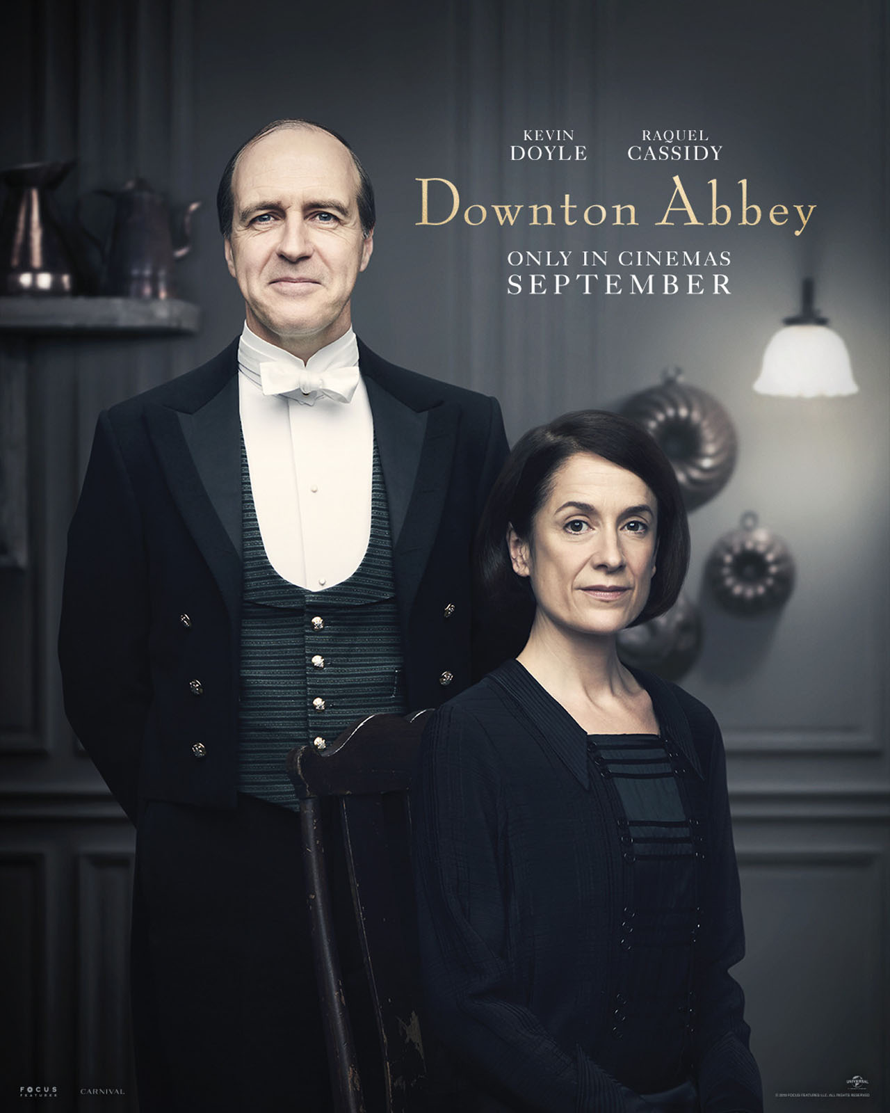 Downton Abbey The Movie Character Posters Joseph Molesley and Phyllis Baxter