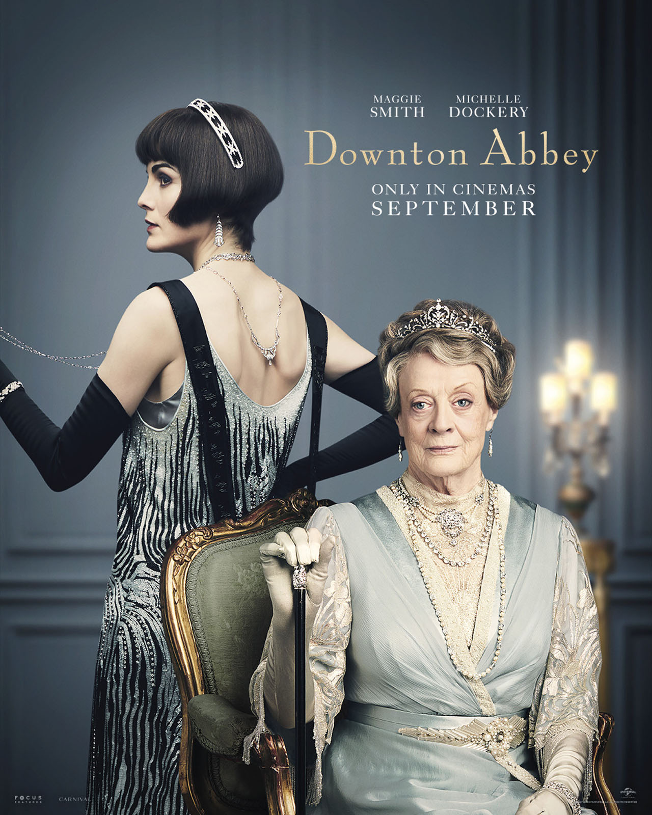 Downton Abbey The Movie Character Posters Lady Mary Crawley and Lady Violet Crawley